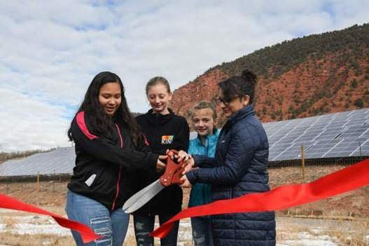 , Glenwood's Riverview School celebrates sustainability, cost savings with solar array, TheCircularEconomy.com