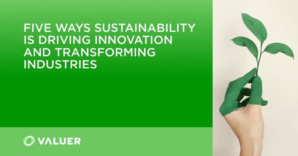 , 5 Ways Sustainability Is Driving Innovation and Transforming Industries, TheCircularEconomy.com