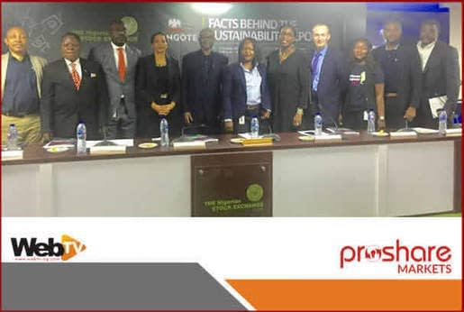 , Dangote Cement Hosts Maiden NSE Facts Behind The Sustainability Report, TheCircularEconomy.com