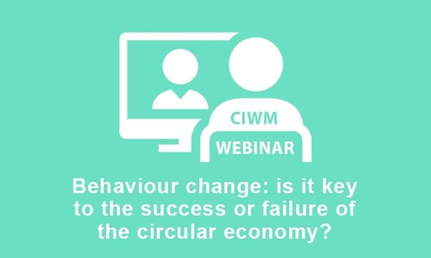 , Will behaviour change be key to the success or failure of the circular economy?, The Circular Economy