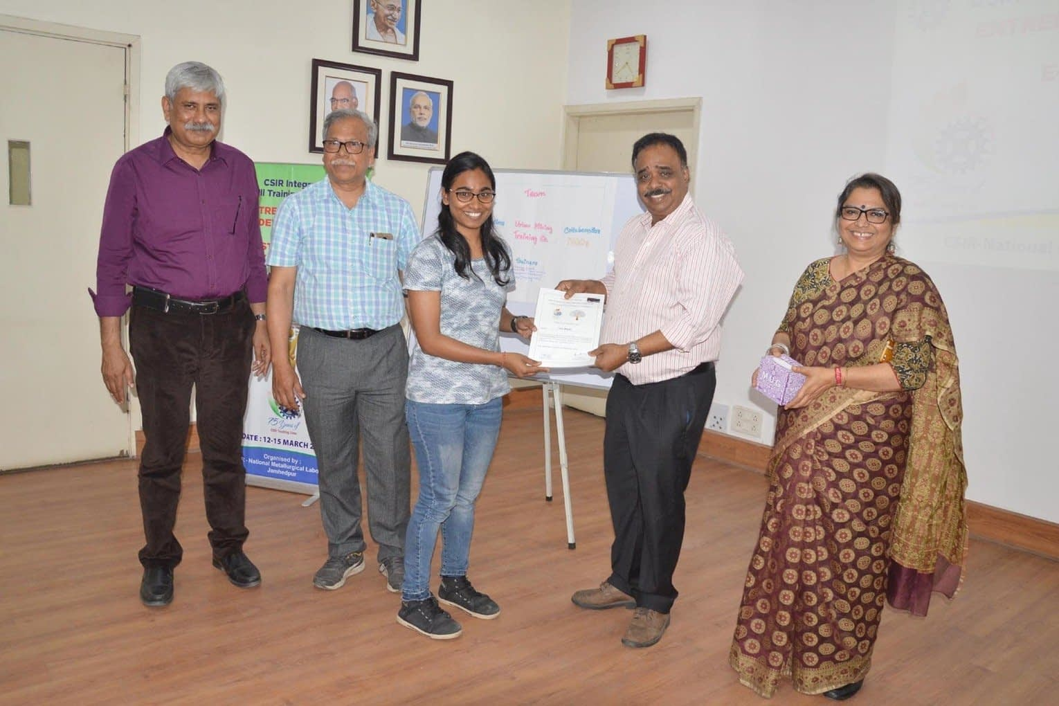 , Curtains come down on E-waste Management programme at NML, The Circular Economy