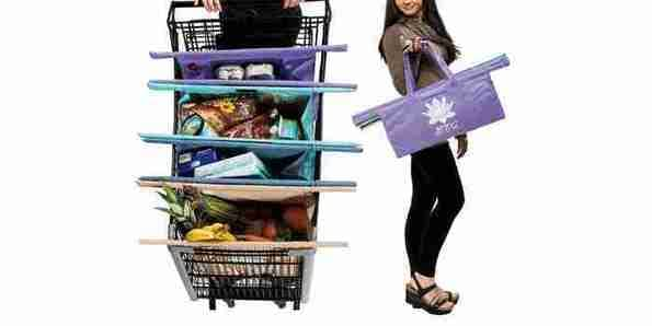 , How One Bag Fits Every Shopping Cart, The Circular Economy