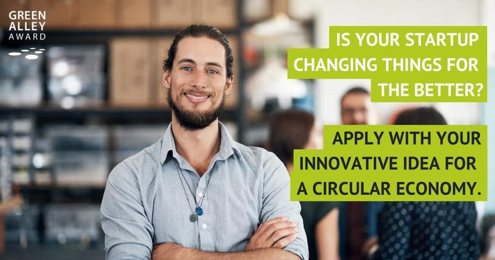 , Green Alley Award 2019 – Europe's Startup Prize for the Circular Economy, The Circular Economy