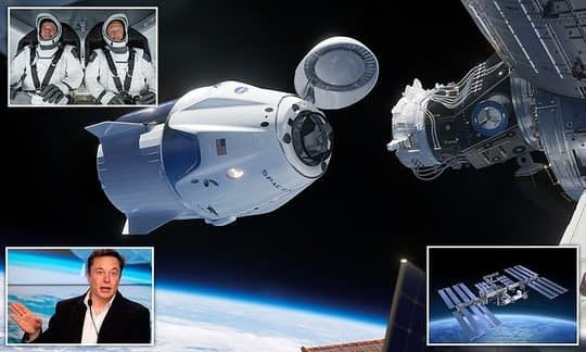 , SpaceX is nine days away from its first manned launch, The Circular Economy