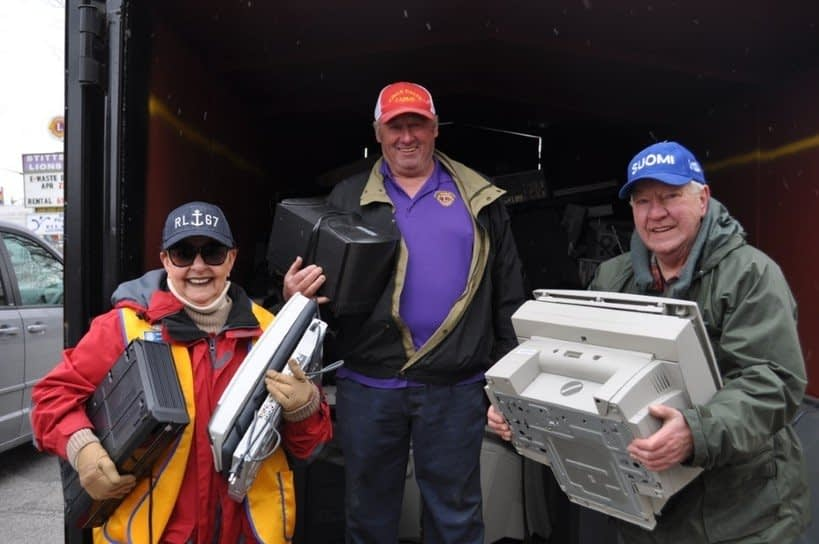 , Stittsville Lions Club e-waste collection a success, The Circular Economy