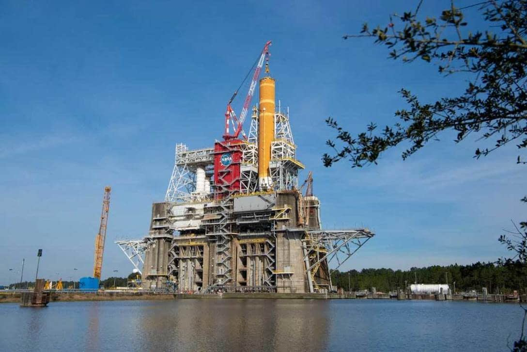 , Critical fuel loading test for the SLS core stage happens this month, TheCircularEconomy.com