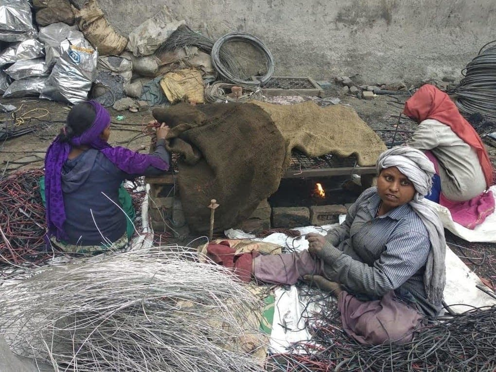 , Electronic waste is recycled in appalling conditions in India, The Circular Economy