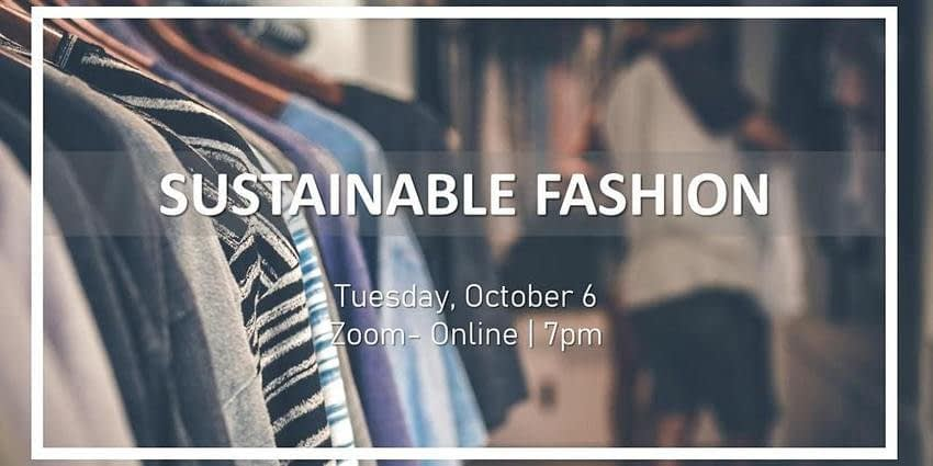 , Sustainable Fashion Tickets, Tue 6 Oct 2020 at 19:00, TheCircularEconomy.com