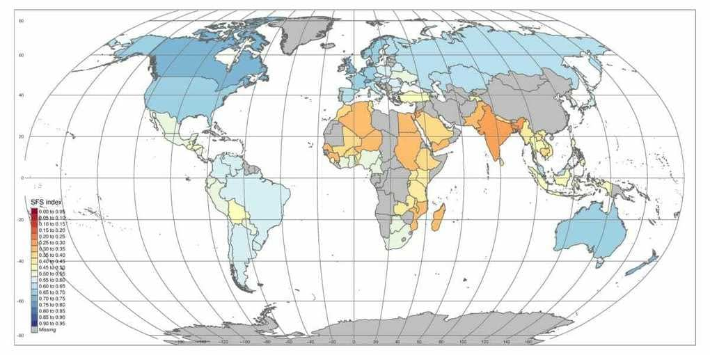 , New Map Shows Sustainability of Global Food Systems, TheCircularEconomy.com
