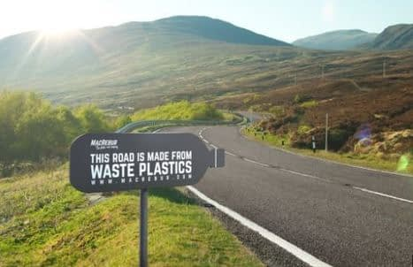 , First look at Scots factory hailed most important in world for turning plastic into roads, The Circular Economy
