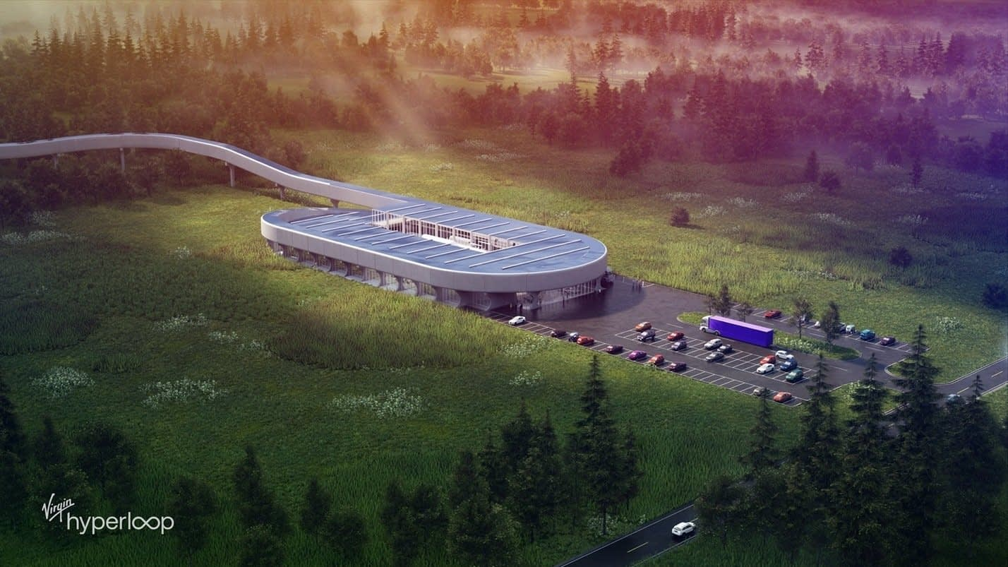 , Virgin Hyperloop picks a home for its high-tech testing facility, TheCircularEconomy.com
