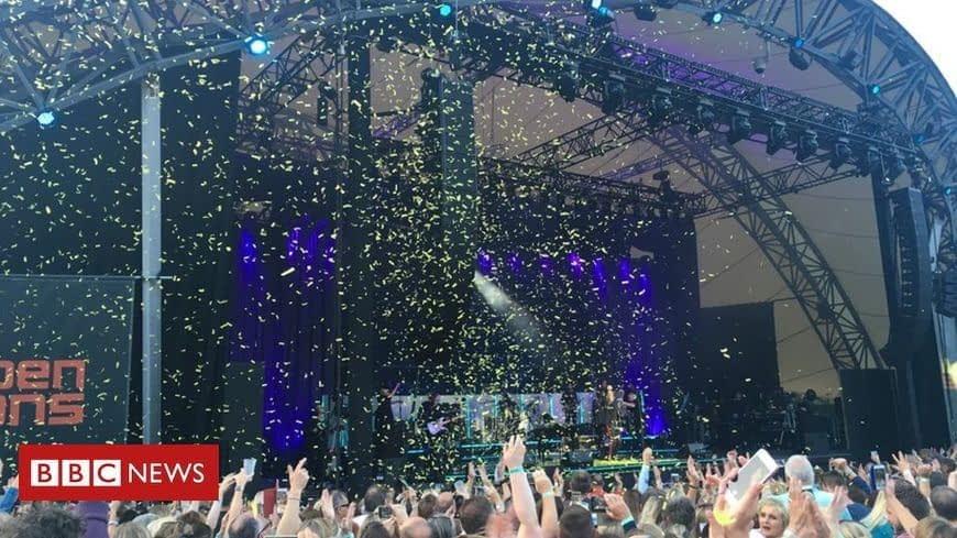 , Gary Barlow apologises for confetti use at Eden Project – Now even confetti is on the radar!, The Circular Economy
