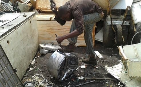 , Toxic chemicals discovered in African eggs gathered from e-waste dumpsite, The Circular Economy