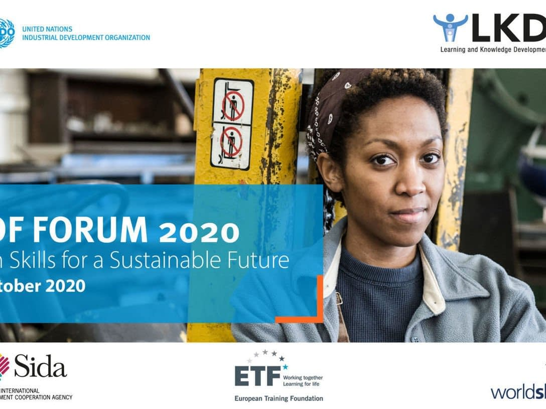 , Take part in UNIDO's LKDF Forum — Green Skills for a Sustainable Future, TheCircularEconomy.com