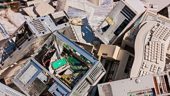 , Cell phone 'Tower of Babel' highlights China e-waste problem (you think cell phones are a problem? How 'bout 50X larger toner cartidges replaced every month???), The Circular Economy