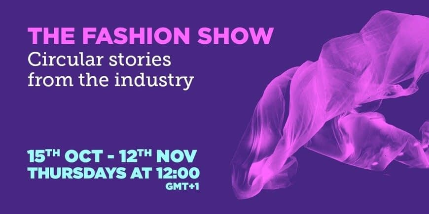 , New weekly shows highlight how fashion can thrive in a circular economy, The Circular Economy