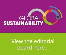 , Global Sustainability – an Open Access journal, TheCircularEconomy.com