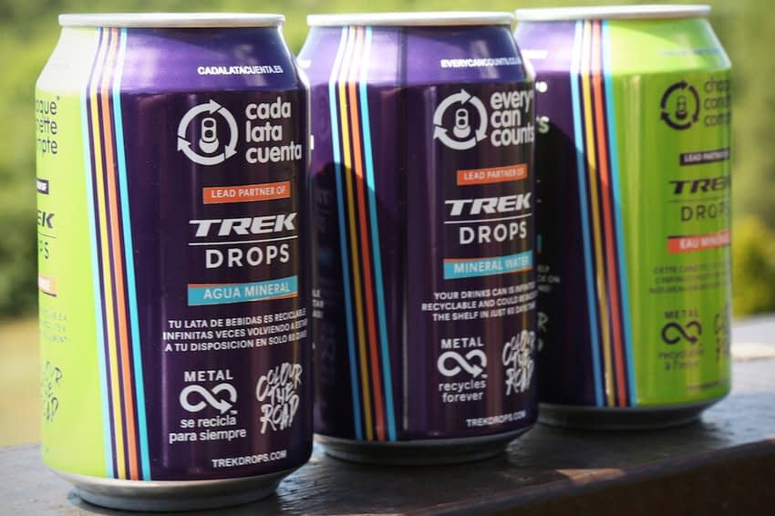, Trek-Drops releases special edition can for campaign aimed at reducing single use plastic, The Circular Economy