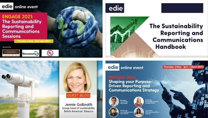 , Engagement 2021: edie kicks off bumper week of sustainability reporting and communications content, The Circular Economy