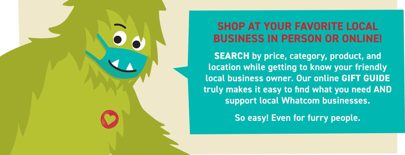 , Sasquatch is the name – Shopping Local is the game, TheCircularEconomy.com
