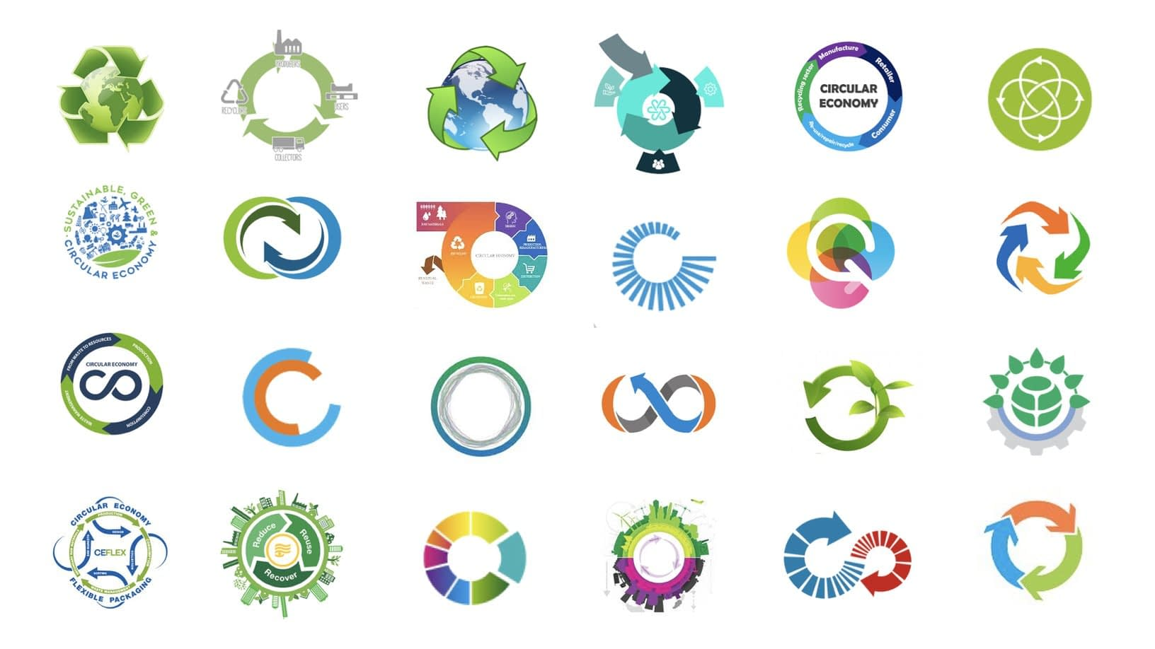 , From the birth of the recycling logo to the call for a circular economy, The Circular Economy