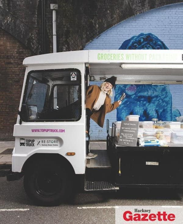 , Shop local: Zero-waste converted milk float delivers sustainable food to Hackney residents, TheCircularEconomy.com