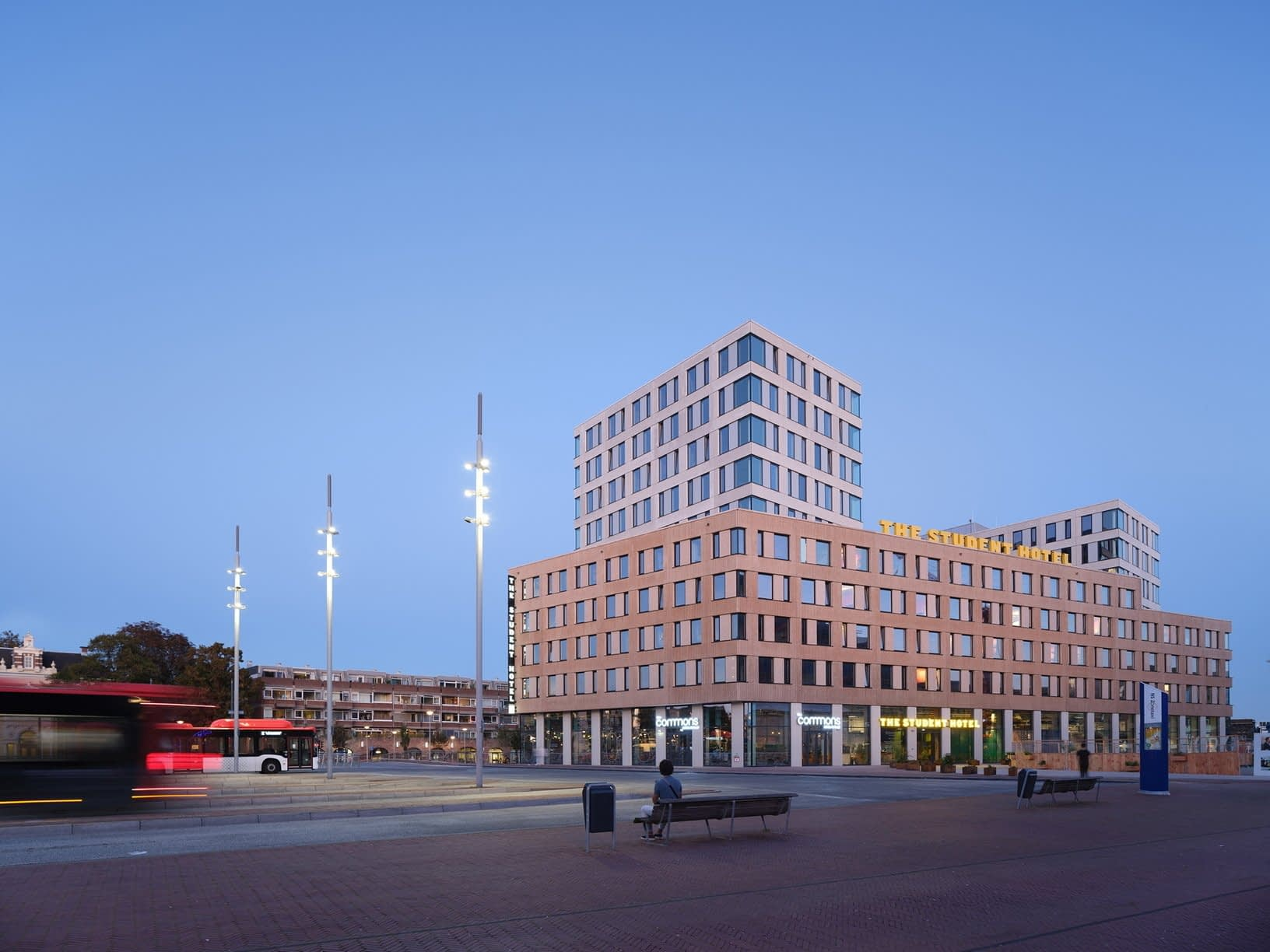 , The Student Hotel in Delft sustainable accommodation by KCAP   Livegreenblog, TheCircularEconomy.com