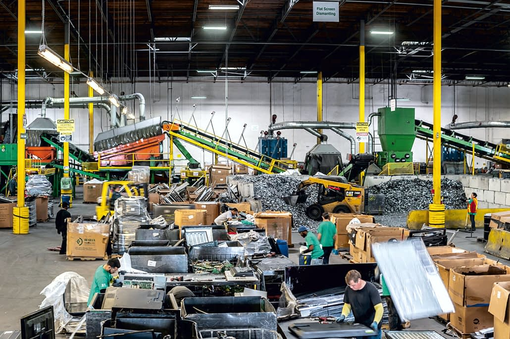 , ERI Provides Data Destruction, ITAD and Electronics Recycling Solutions for Indiana's E-Waste Problems, The Circular Economy