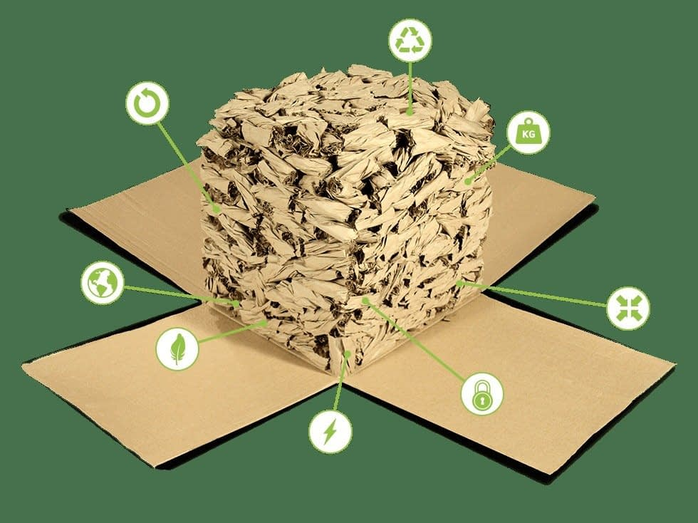 , Twists – Eco-Friendly Packing – To establish a sustainable packing solution, benefiting our future., TheCircularEconomy.com