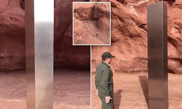 , Wildlife officials discover mysterious 12-foot-tall metal monolith in the middle of a Utah desert   Daily, TheCircularEconomy.com