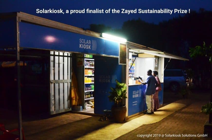 , Solarkiosk is a proud finalist of the Zayed Sustainability Prize 2020! –, TheCircularEconomy.com
