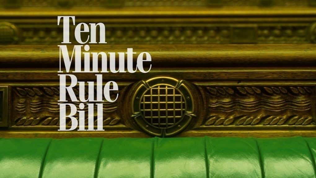 , Ten Minute Rule Bill – Food Labelling (Environmental Sustainability) Bill, TheCircularEconomy.com